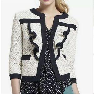 Anthropologie Tabitha Lace Jacket Size 12